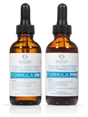 Scalp Treatment for Hair Growth with Pm and PMb Minoxidil